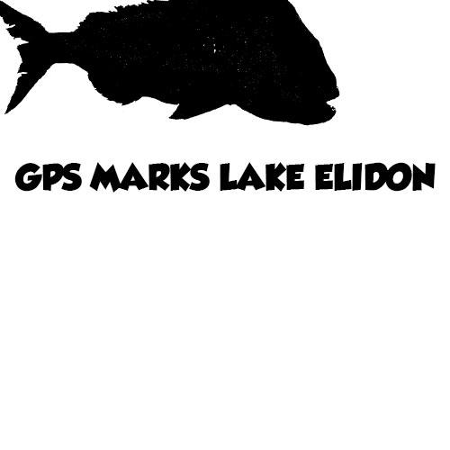 gps marks, gps marks lake elidon , fishing spots, lake elidon,trout spots lake elidon