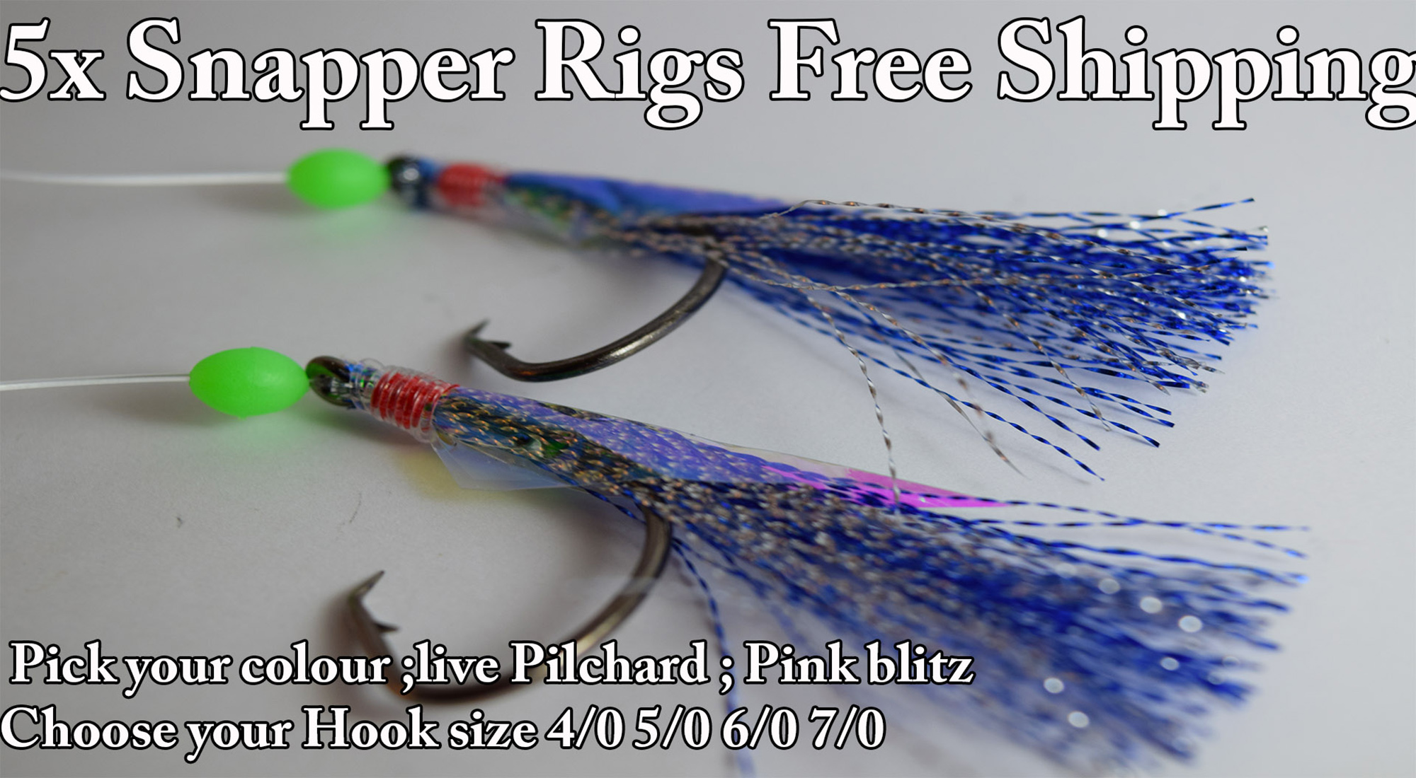 Fishing lures snapper jigs and bait rigs snapper fishing for Best surf fishing rigs
