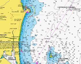 Wollongong fishing, Locations, gps marks, Wollongong gps fishing marks , fishing spots Wollongong , depth chart