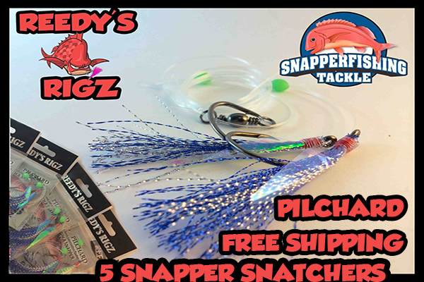 Snapper fishing tackle snapper snatchers fishing online for Online fishing store