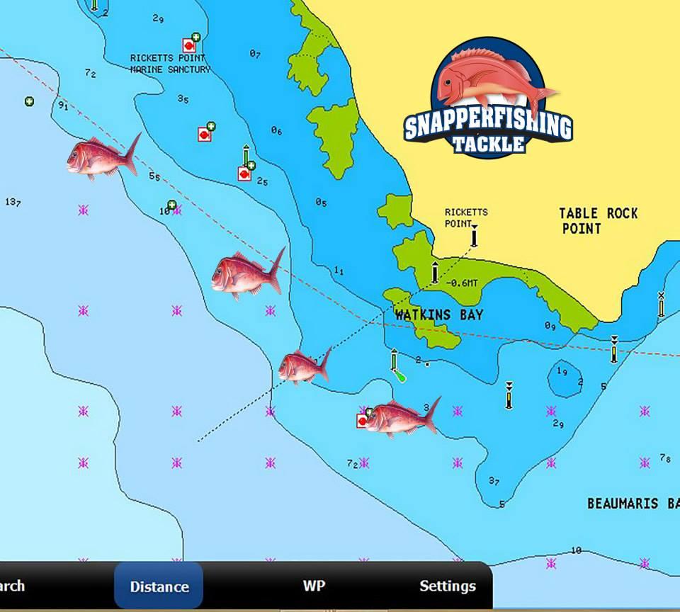 Gps Marks Port Phillip Bay Fishing Spots Location ...