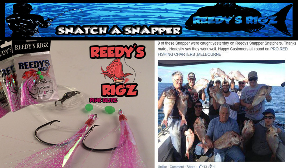 Snapper lure, rigs, Snapper jigs, fishing rigs, snapper snatchers