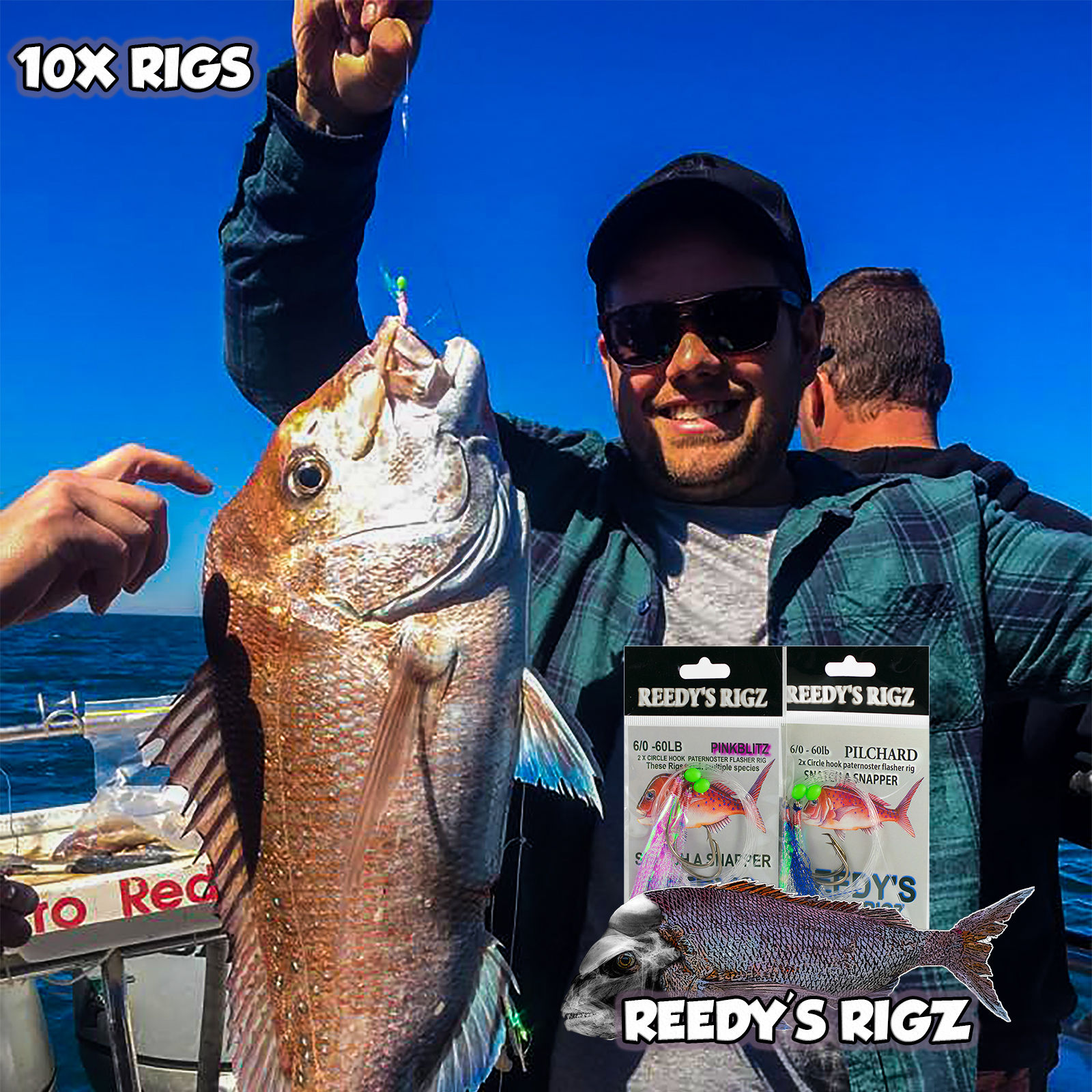snapper , pro red charters , fishing , melbourne snapper